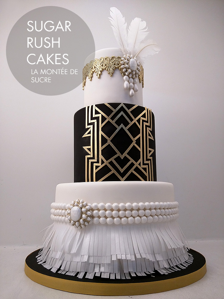 gatsby wedding cake great gatsby cake 14652